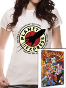 Futurama (Planet Express) Women's T-shirt Thumbnail 1