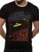 Foo Fighters (Spaceship Tour) T-shirt Pre-order Released W/C 13th July