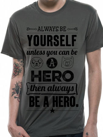 Adventure Time (Always Be Yourself) T-shirt Preview