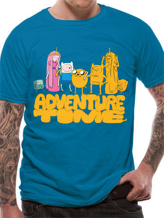 Adventure Time (Bubble Group) T-shirt Preview