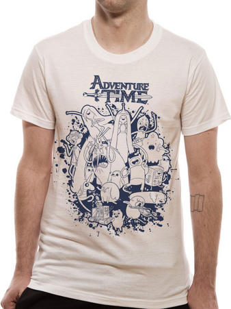Adventure Time (Group Splat) T-shirt Preview
