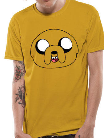 Adventure Time (Jake Face) T-shirt Preview