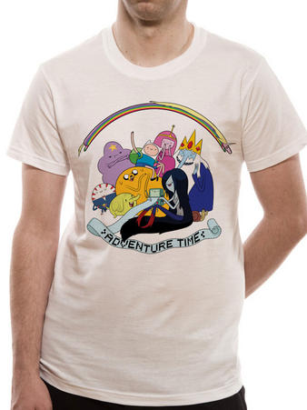 Adventure Time (Rainbow Cast) T-shirt Preview