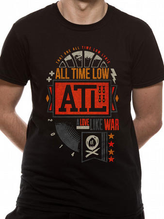 All Time Low (Volt) T-shirt Preview