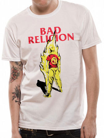 Bad Religion (Flame) T-shirt Preview