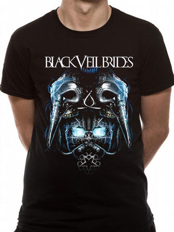 Black Veil Brides (Metal Mask) T-shirt Preview