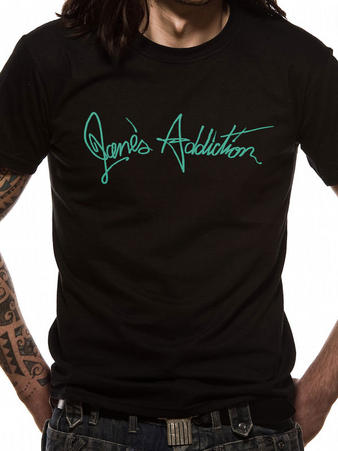 Jane's Addiction (Logo) T-shirt Preview