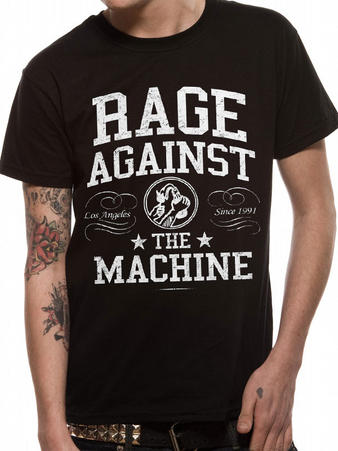 Rage Against The Machine (Crown College) T-shirt Preview