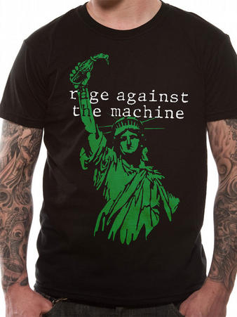 Rage Against The Machine (Liberty) T-shirt Preview