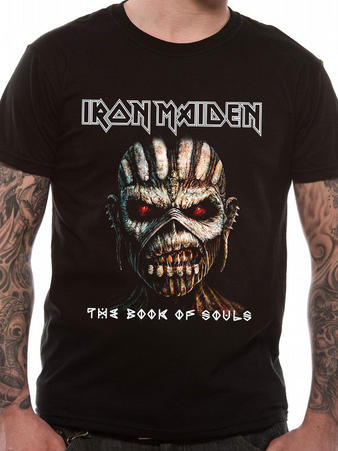 Iron Maiden (Book Of Souls) T-shirt Pre-order Released W/C 31st August