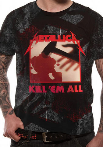 Metallica (In Grained Kill 'Em All) T-shirt Preview