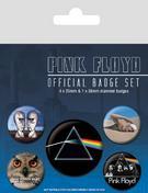 Pink Floyd (Logo) Badge Set