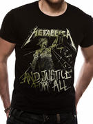 Metallica (Vintage Justice) T-shirt