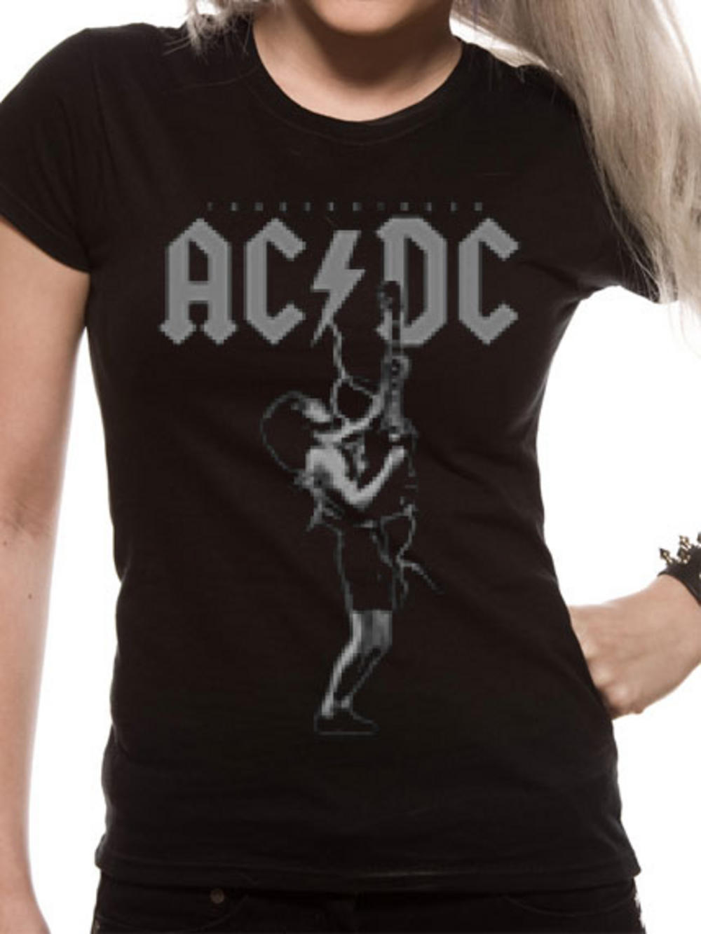 AC/DC (Thunderstruck Tour) Womens T-shirt Pre-order Released W/C 31st August