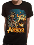 Asking Alexandria (Am I Insane) T-shirt