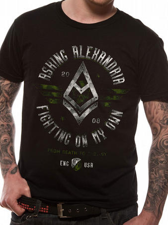 Asking Alexandria (Fight) T-shirt Preview