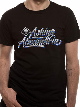 Asking Alexandria (Script) T-shirt Preview