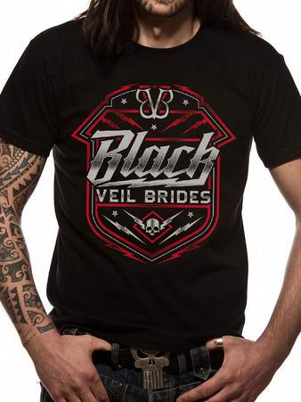 Black Veil Brides (Death Shield) T-shirt Preview