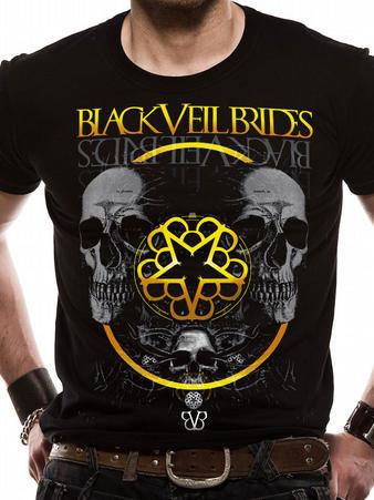 Black Veil Brides (Greyskull) T-shirt Preview