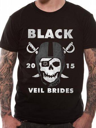 Black Veil Brides (Marauders) T-shirt Preview