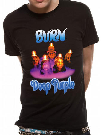 Deep Purple (Burn) T-shirt Preview