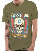 Halestorm (Lightning Skull) T-shirt