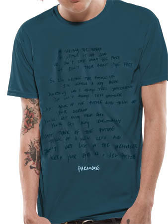 Paramore (Handwritten) T-shirt Preview
