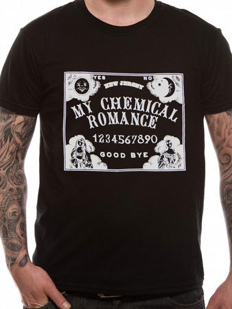 My Chemical Romance (Ouija) T-shirt Preview