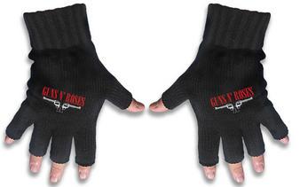 Guns N Roses (Logo & Pistols) Fingerless Gloves Preview