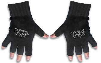 Cannibal Corpse (Logo) Fingerless Gloves Preview