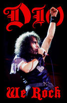 Dio (We Rock) Textile Poster