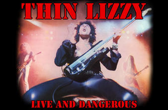 Thin Lizzy (Live And Dangerous) Textile Poster Preview