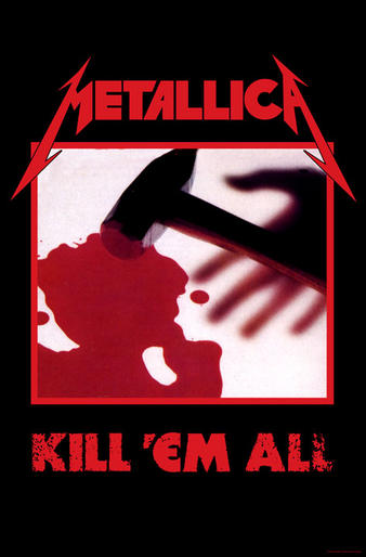 Metallica (Kill Em All) Textile Poster Preview