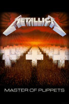Metallica (Master Of Puppets) Textile Poster