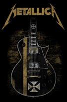 Metallica (Hetfield Guitar) Textile Poster