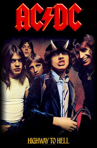 AC/DC (Highway To Hell) Textile Poster Preview