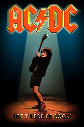 AC/DC (Let There Be Rock) Textile Poster Preview