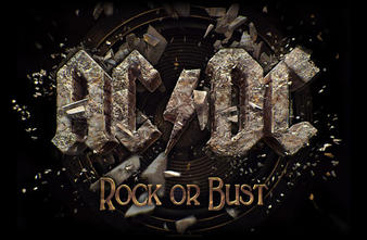 AC/DC (Rock Or Bust) Textile Poster Preview
