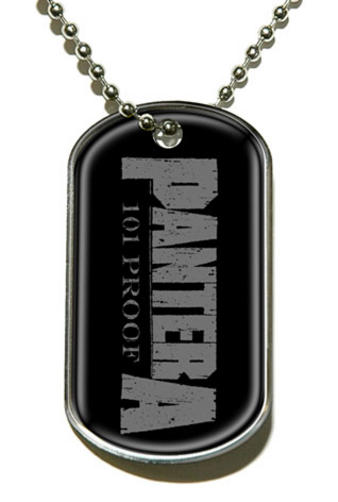 Pantera (101% Proof) Dog Tag Preview