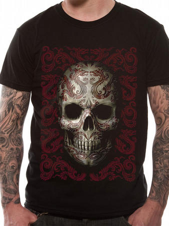 Anne Stokes (Oriental Skull) T-shirt Preview