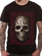 Anne Stokes (Oriental Skull) T-shirt Thumbnail 1