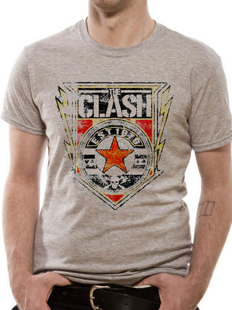 The Clash (Shield) T-shirt Preview