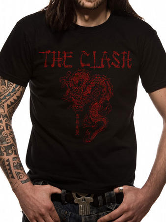 The Clash (Dragon) T-shirt Preview