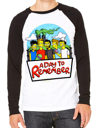 A Day To Remember (Simpsons) T-shirt Preview