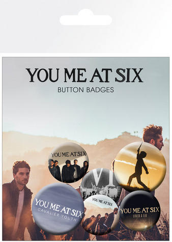 You Me At Six  (Logo) Badge Pack Preview