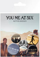 You Me At Six  (Logo) Badge Pack