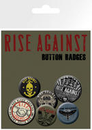 Rise Against (Logo) Badge Pack