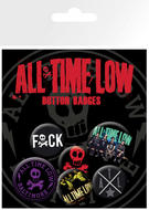 All Time Low (Logo) Badge Pack
