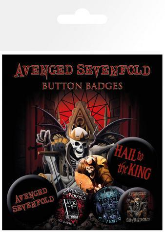 Avenged Sevenfold (Logo) Badge Pack Preview