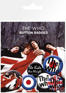 The Who (Logo) Badge Pack